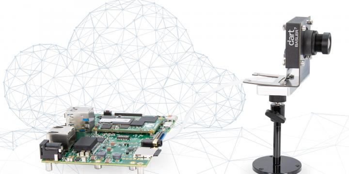 Embedded Vision system for cloud-based machine mearning applications: Basler