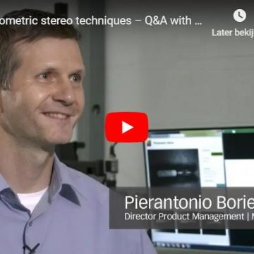 Photometric stereo techniques – Q&A with Matrox Imaging