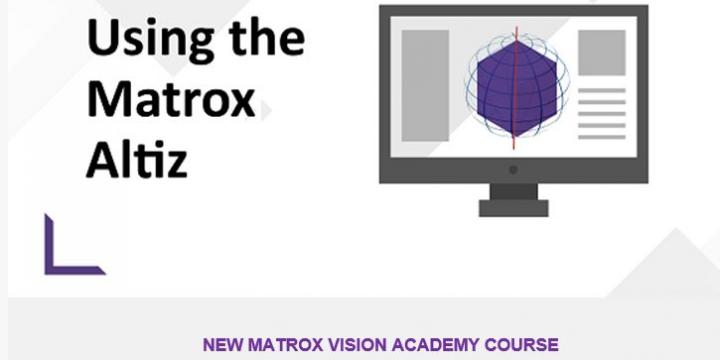 Get started with Matrox AltiZ 3D profile sensors