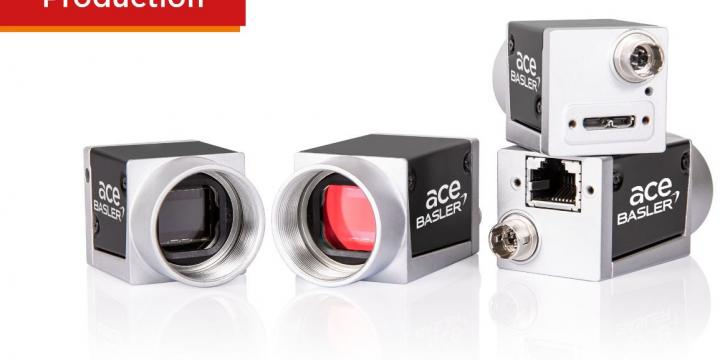 In series production: ace U with 20 MP resolution